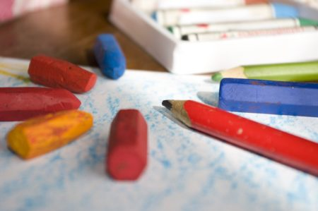 beeswax crayon diy