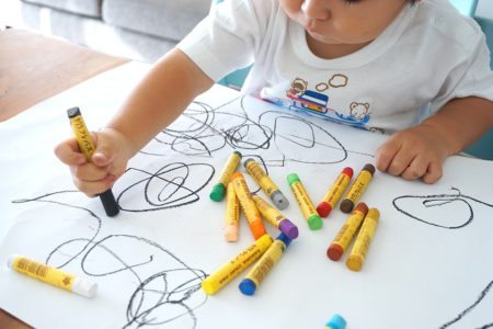 crayon toddler