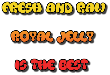 Fresh and Raw Royal Jelly